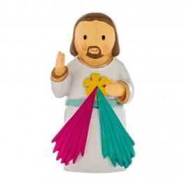 Statuetta Gesù Misericordioso in Resina