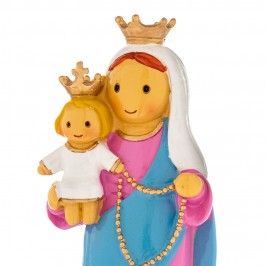 Statua Madonna del Rosario in Resina