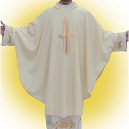 Casula Avorio con Croce