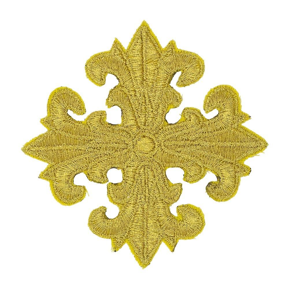 Croce Oro Filato per Paramenti Liturgici