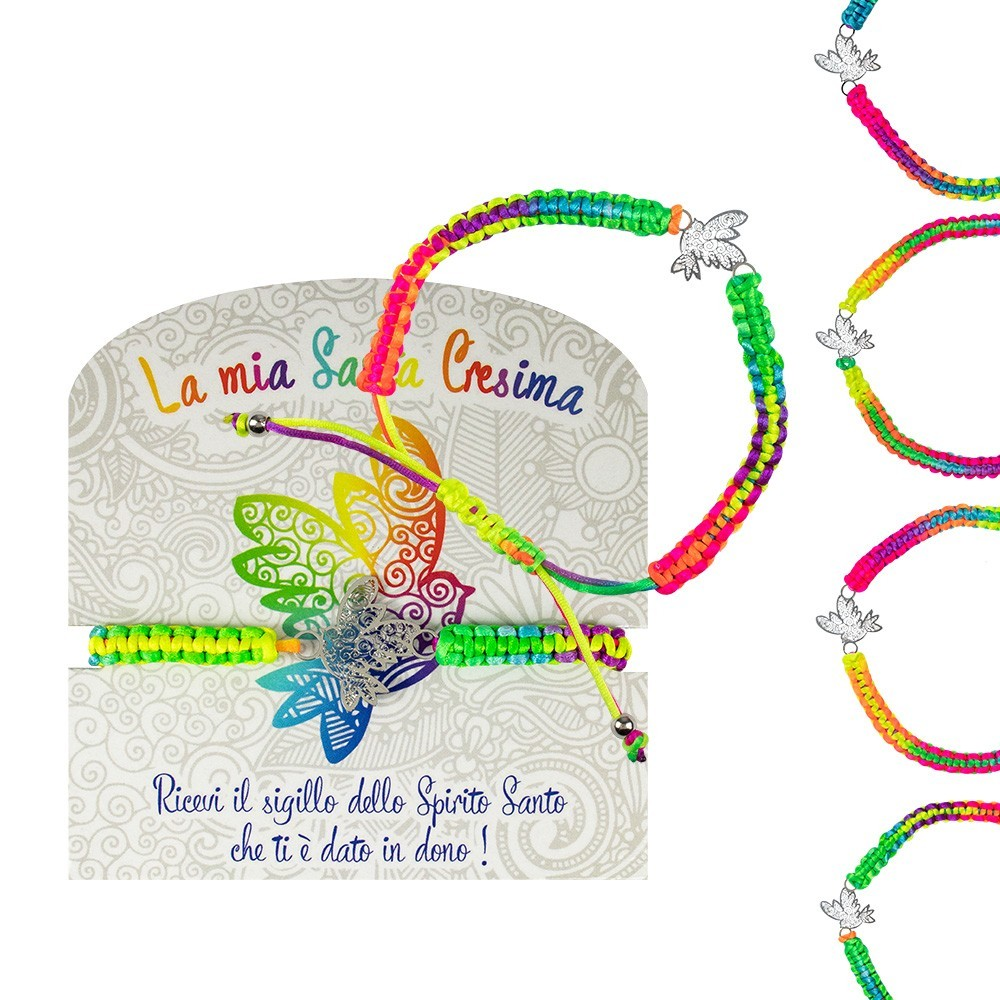 Bracciale Cresima Multicolor