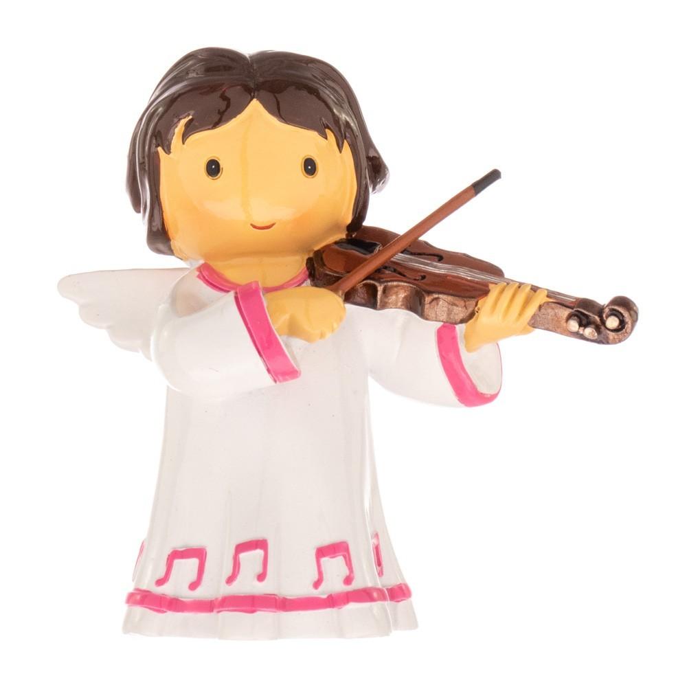 Statua Angelo con Violino