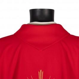 Casula Rossa Ricamo Spirito Santo