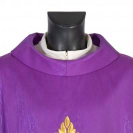 Casula Viola Ricamo Tre Croci