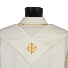 Stola Avorio Romana per Sacerdote
