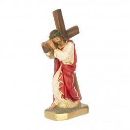 Statua Gesù con Croce in Spalla