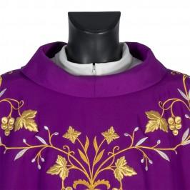 Casula Viola Ricamata