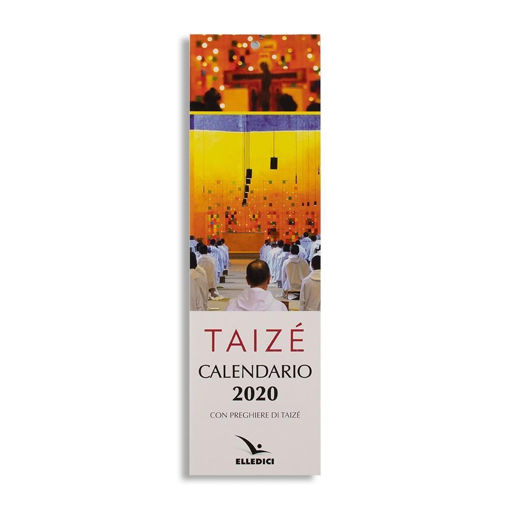 Vendita Calendario 2020.Calendario 2020 Taize