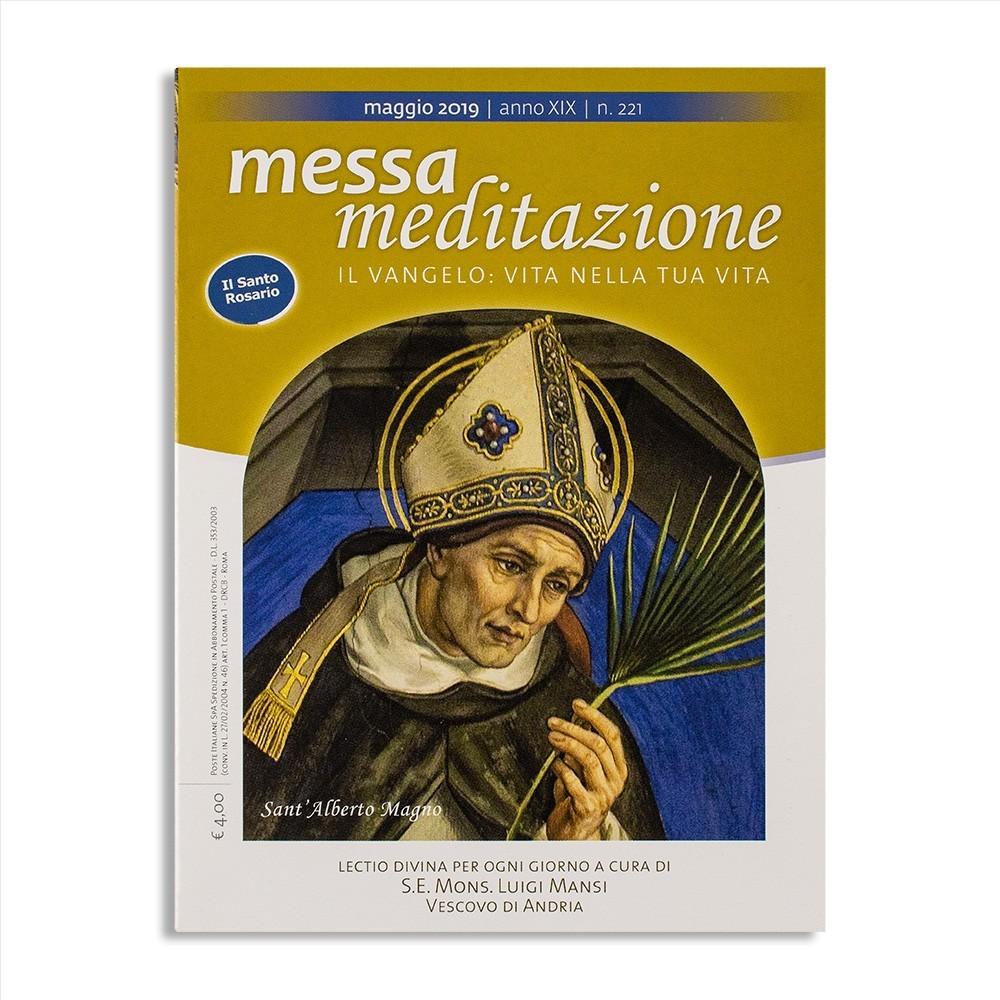 Messa Meditazione Maggio 2019