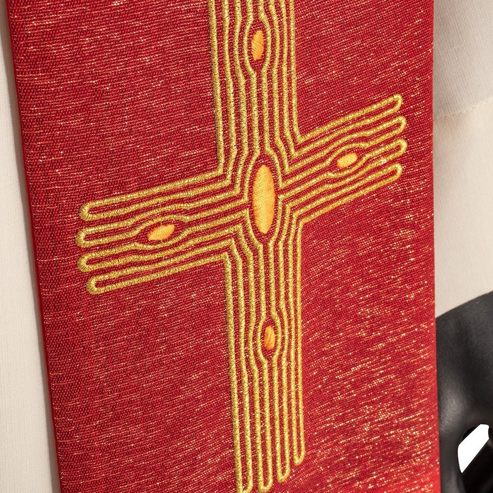 Stola Sacerdotale con Croce Ricamata
