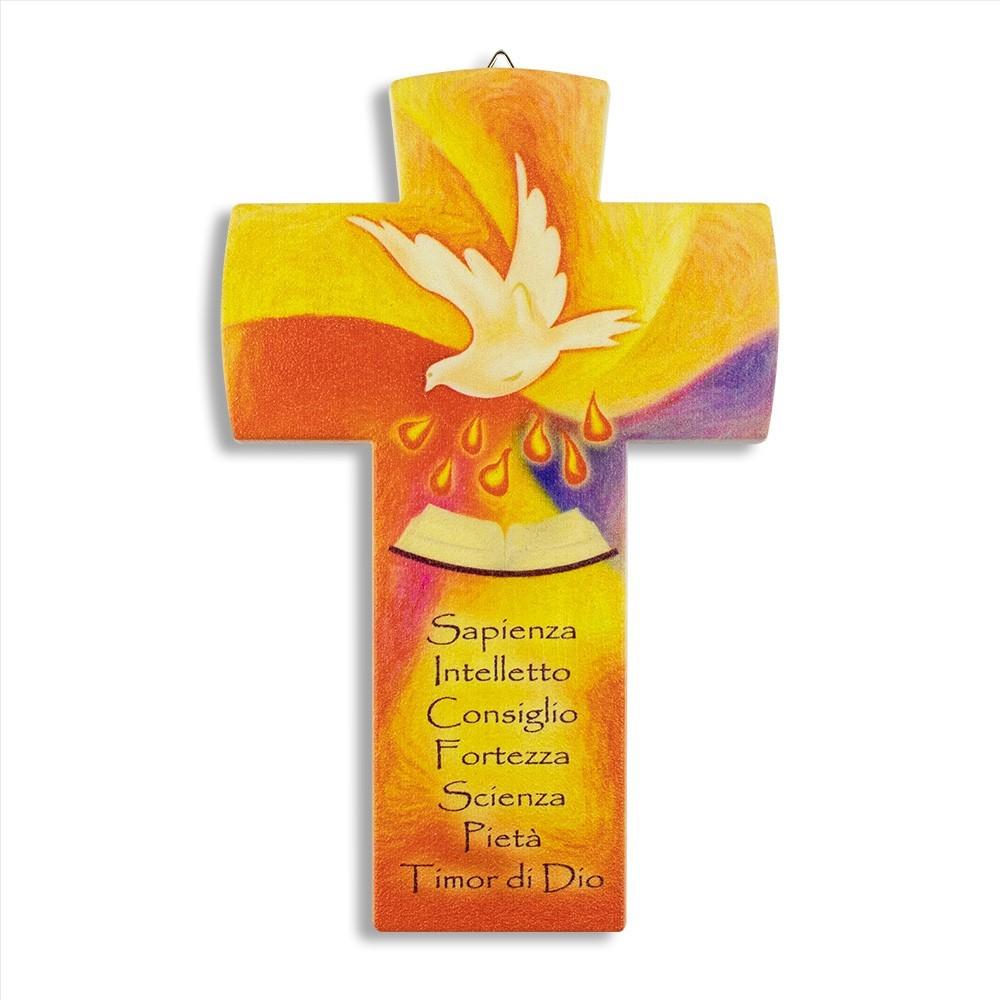 Croce da parete Cresima