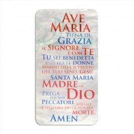 Quadretto Ave Maria in Madreperla