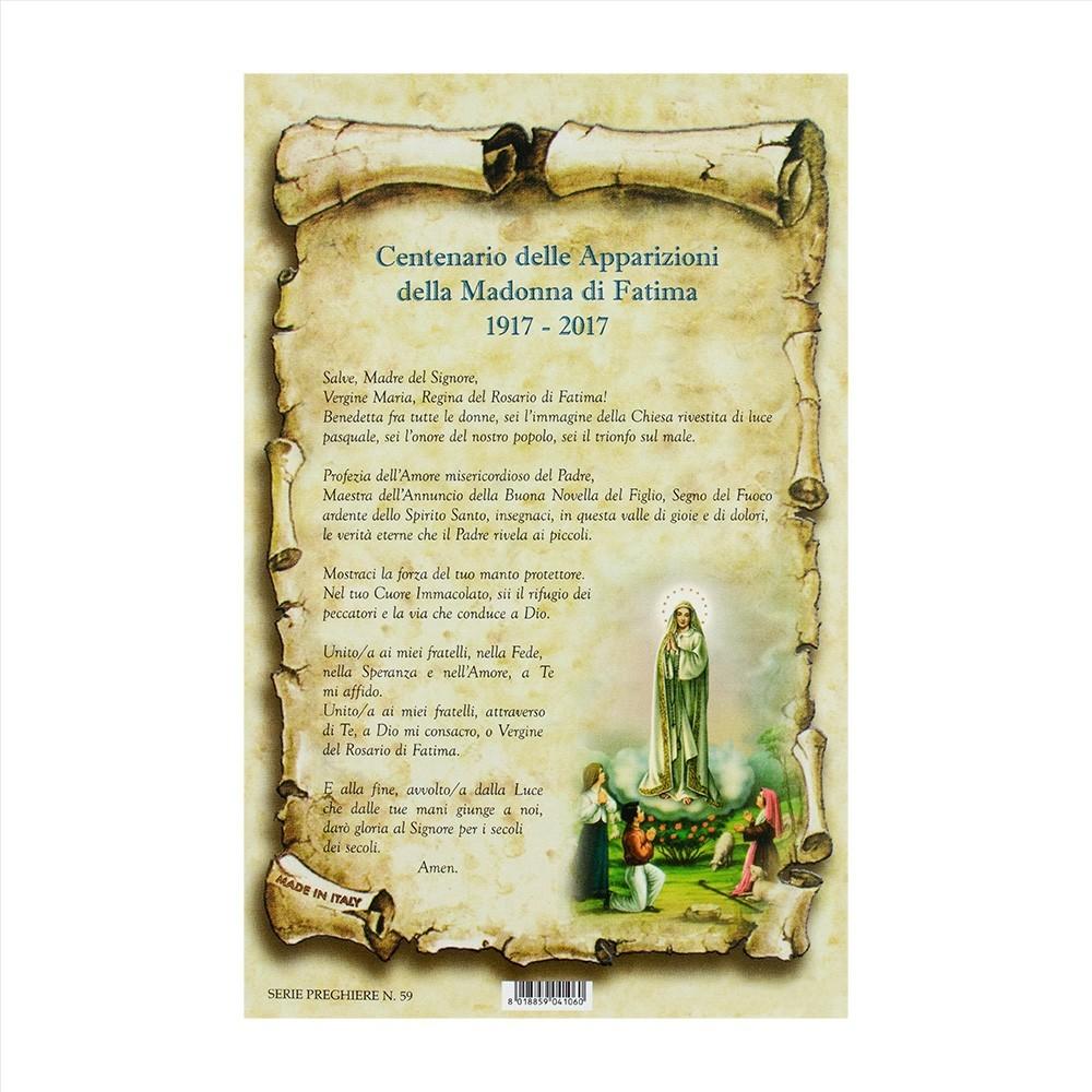 Centenario delle Apparizioni della Madonna di Fatima