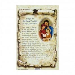 Preghiera alla Famiglia di Papa Francesco