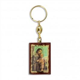 Portachiave in legno San Giuseppe