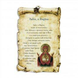 Tavoletta con Preghiera Salve o Regina