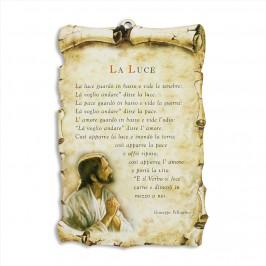 Quadretto Pergamena con Preghiera