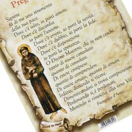 Cartoncino con Preghiera Semplice