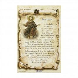 Cartoncino Preghiera Io Credo