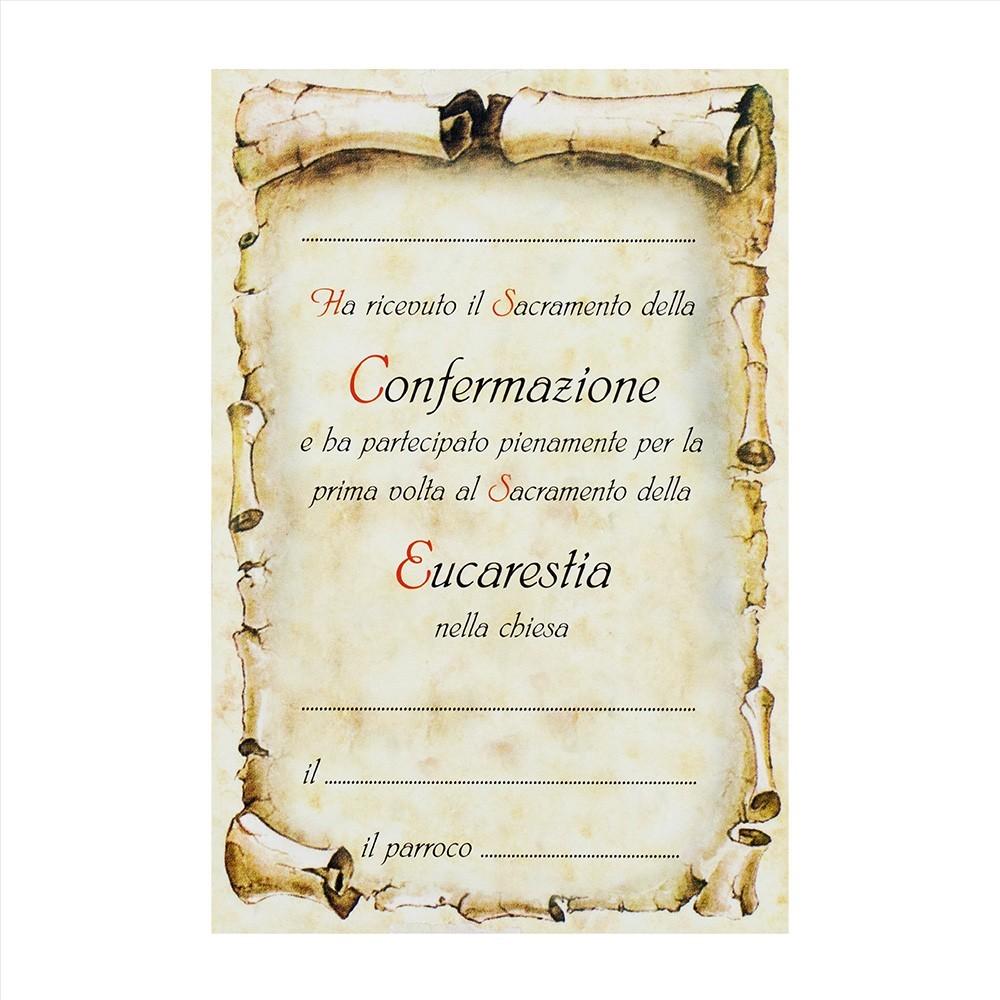 Croce Ricordo Comunione e Cresima