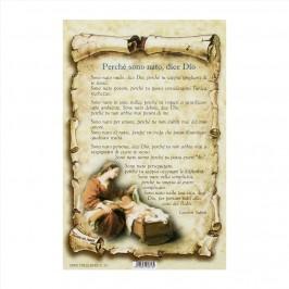 Preghiera Perchè sono Nato dice Dio
