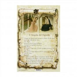 Cartoncino Preghiera l'Angelo del Signore