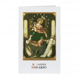 Cartoncino Pieghevole il Santo Rosario