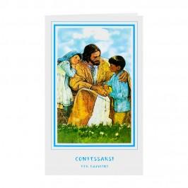 Pieghevole Confessarsi per Bambini