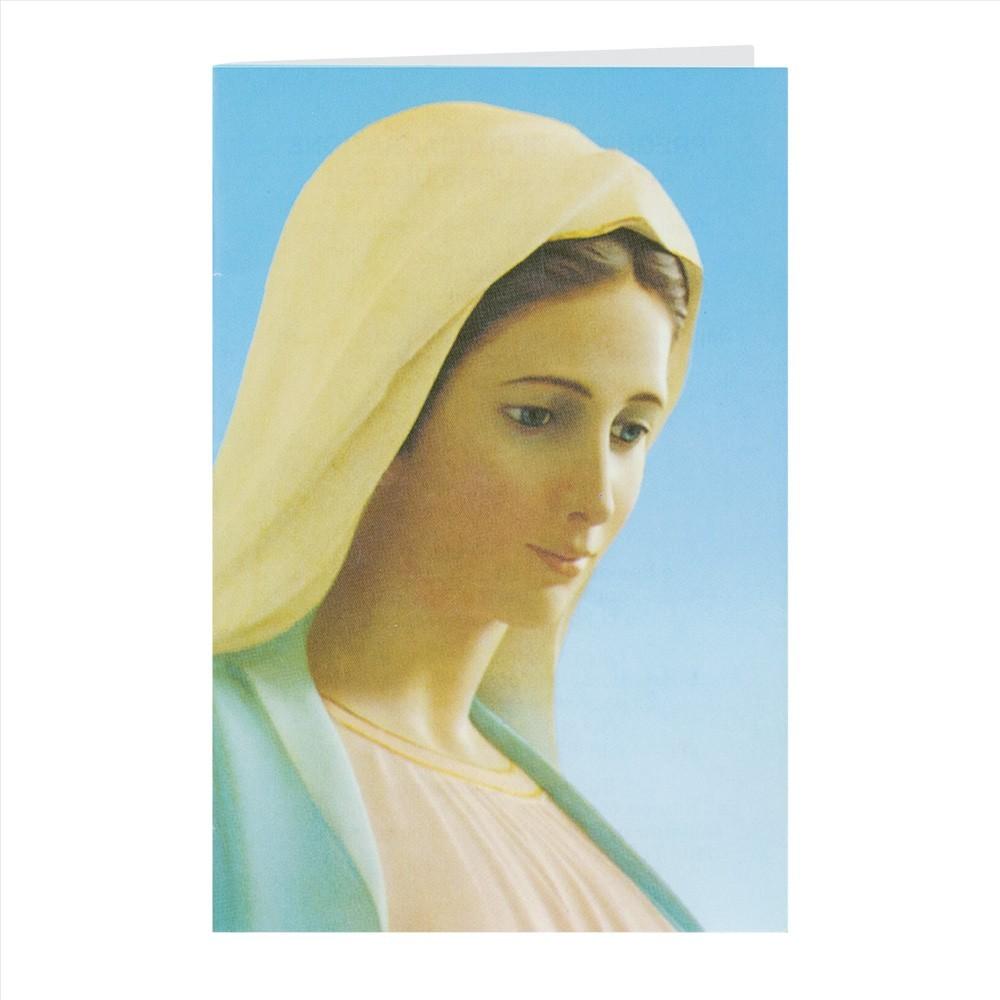 Pieghevole con Atto di Speciale Affidamento a Maria