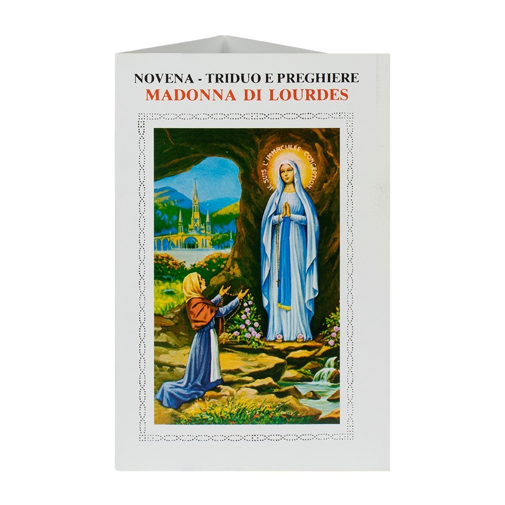 Novena Madonna di Lourdes 100 pezzi