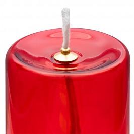 Bicchiere in Vetro Rosso per Santissimo