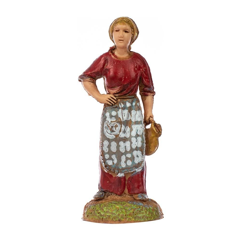 Donna con Anfora Landi 6 cm