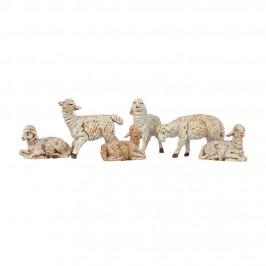 Pecore Fontanini 10 cm 6 pezzi