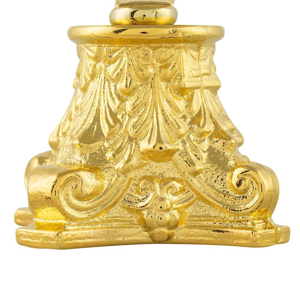 Ostensorio ottone dorato