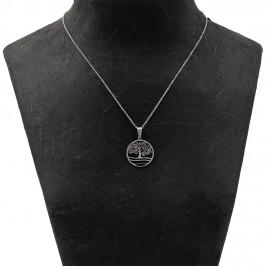 Confezione con Collanina e Medaglietta in Acciaio