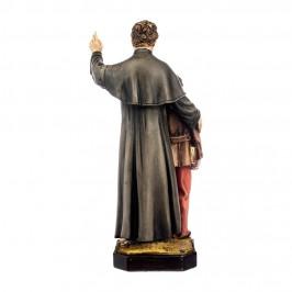 Statua Don Bosco e Domenico Savio 30 cm