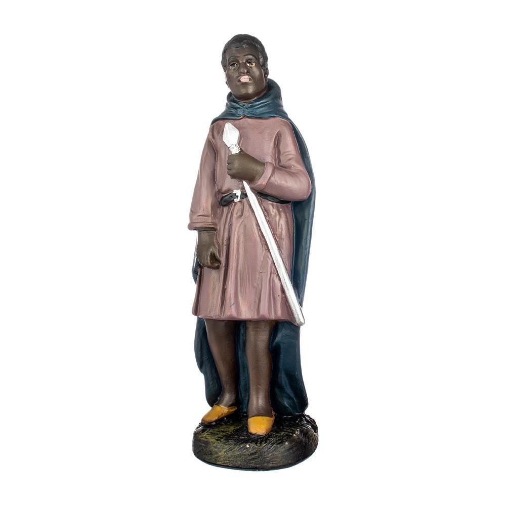 Statua Cammelliere in Gesso 20 cm