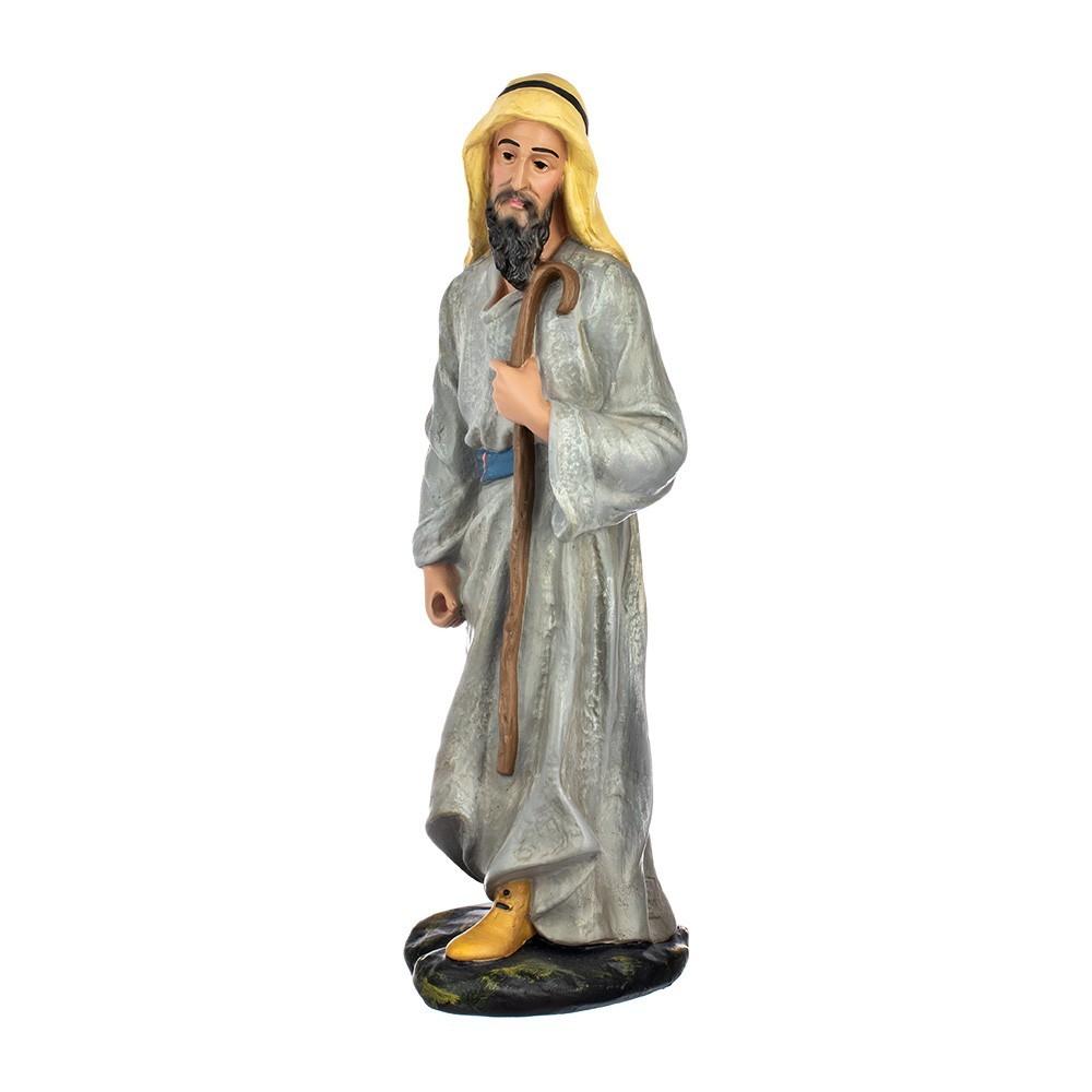 Statua Pastore Contadino 40 cm in Gesso