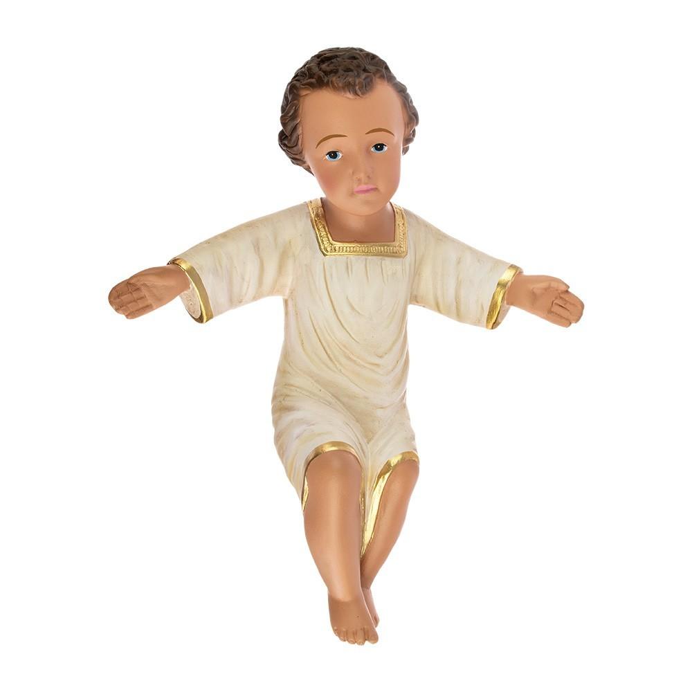 Gesù Bambino 27 cm in Gesso