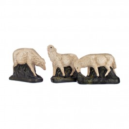 Pecore 30 cm Presepe in Gesso