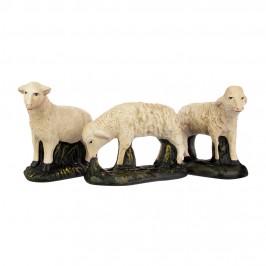 Pecore Presepe in Gesso 40 cm
