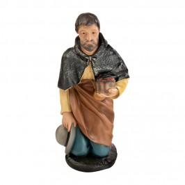 Statua Pastore Inginocchiato 60 cm in  Gesso