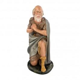 Statua Pastore in Ginocchio 60 cm in Gesso