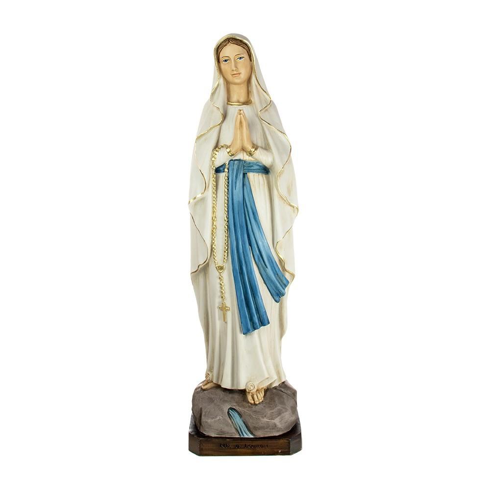 Madonna di Lourdes 80 cm in Resina