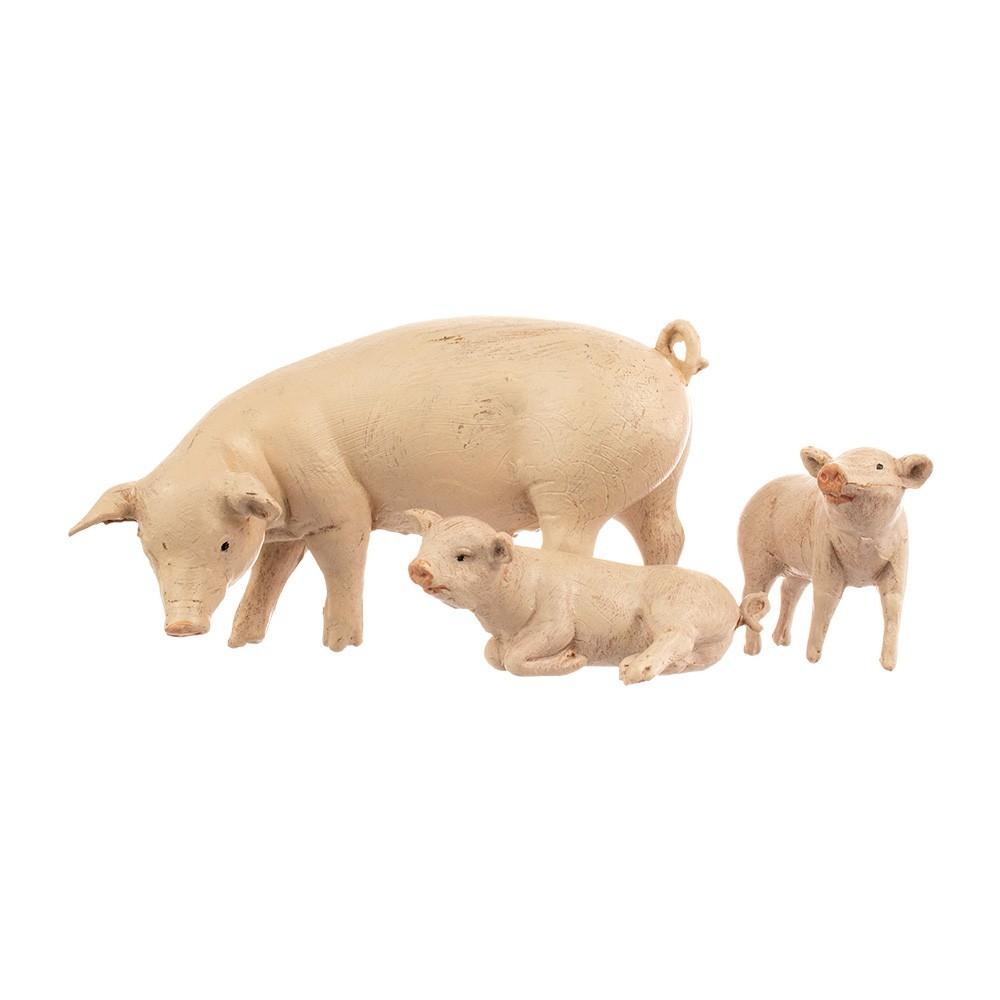 Famiglia Maiali Fontanini 19 cm