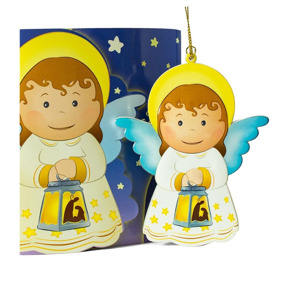 Cartoncino di Natale con Angioletto