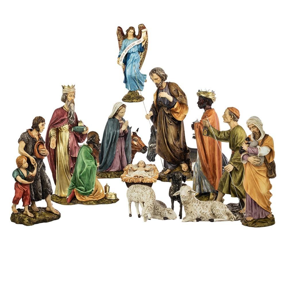Natività in Resina 50 cm 16 pezzi