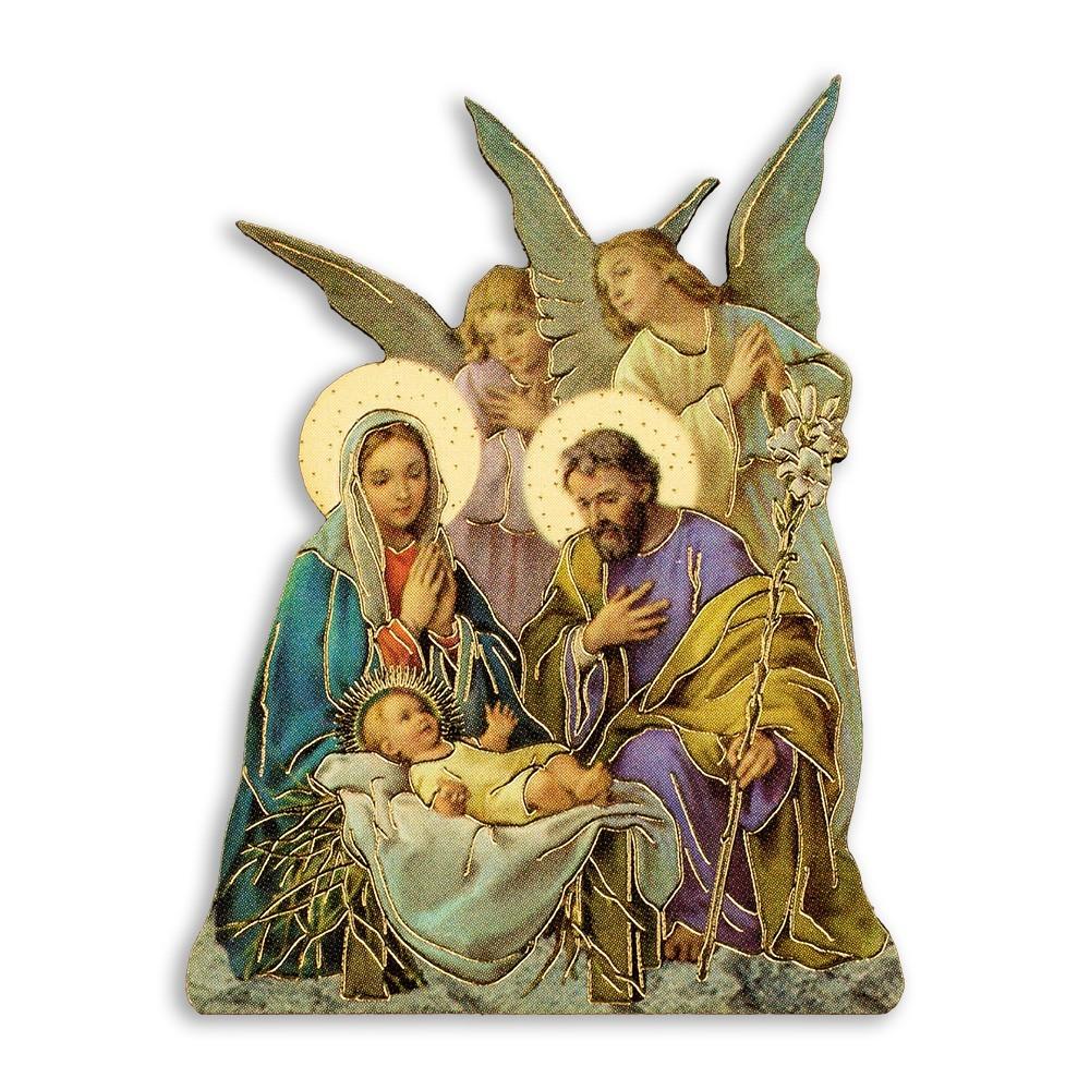 Magnete con Natività e Angeli