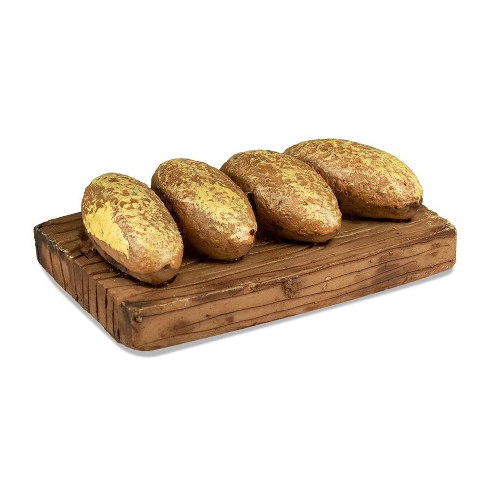 Tagliere con Pane per Presepe