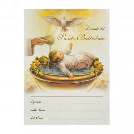 Pergamena per Battesimo
